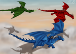 The Time of the Dragon Riders by sbrigs