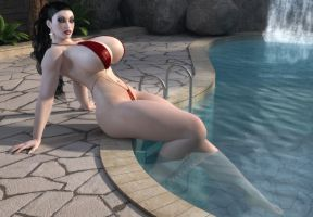 Poolside 01 by willdial