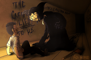 Bendy and the Ink Machine COLLAB with Cookiebab by LadyOtakuGamer789