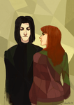 snape and lily - somebody that i used to know by shorelle