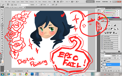Digital painting is Epic FAIL by Ryouuu