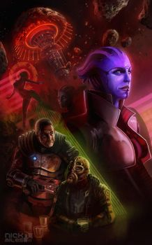 Mass Effect: Omega by Exullium