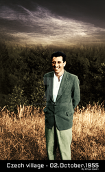 Dr Ghassemlou Czech village - 02.October.1955 by chiyaqadri