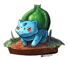 #1 Bulbasaur by Zalcoti