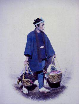 Japanese Cook, Returning from Market - Modernized by Bunny-with-Camera