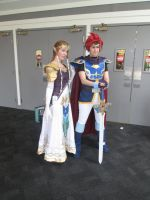 Zelda and Roy cosplay by videogameking613