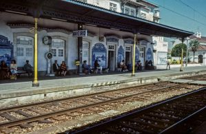 Railway Station Of Aveiro - Portugal by Woscha