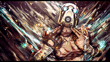 Borderlands 2 Smudge by The35thChamber