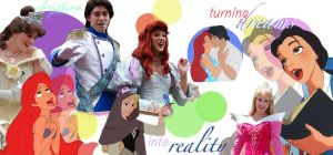Dreams+Reality Disney Collage by missdisney9