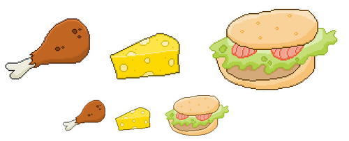 Pixel Eat by Gridysgood