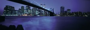 New York City at Night by nikonforever