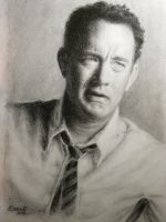 Tom Hanks by DeniseEsposito