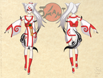 Amaterasu Reference Sheet 1 by Sabi-Cat-13