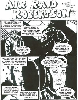 Danger and Dissonance Page 1 by Air-Raid-Robertson