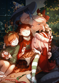 Witchy Christmas by Marmaladica