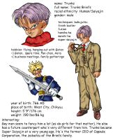 Trunks _character sheet_ by Oolong-sama
