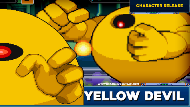 Yellow Devil - Robot Master Mayhem by OIlusionista