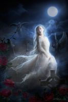 Ghost of the Roses by PatriciaLira
