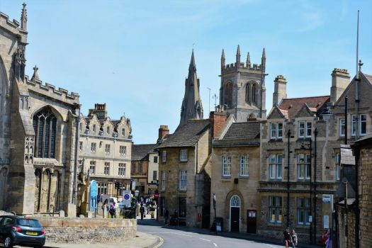 All Saints' Square, Stamford by Irondoors