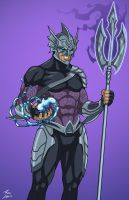 Ocean Master (Earth-27) commission by phil-cho