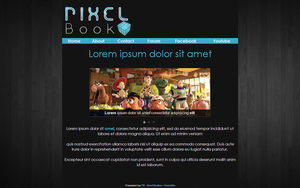 Pixel Book by Pif8