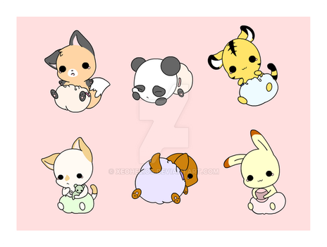 Baby Animals by Xeohelios