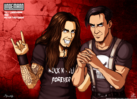 Till And Peter- Lindemann Project by syren007