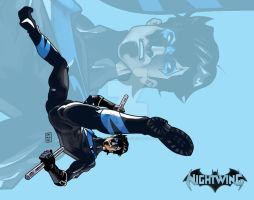 Nightwing by JohnCatalanoArt