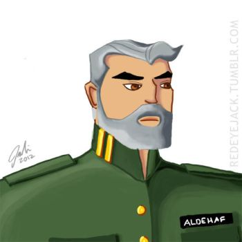 Handsome Military Dude by IllustrativeJack