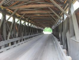 Swiftwater Covered Bridge 3 by OldSchoolHipster