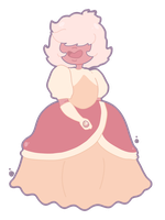 Steven Universe - Padparadscha Sapphire by Hashiero
