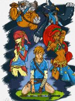 Champions of Hyrule - Link by MauricioSS