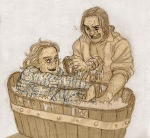 Washing [Childermass and Vinculus] by ProfDrLachfinger