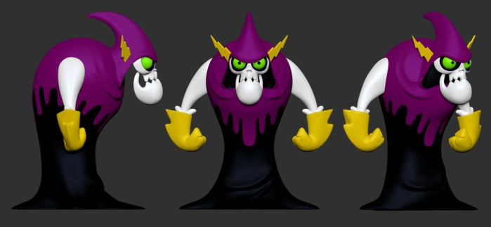 Lord Hater Color by clanaghan