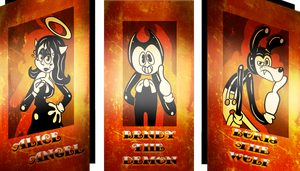 Bendy fanart Contest entry by Dizzy-Mis-Lizzy