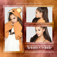 Pack Png 28// Ariana Grande. by iPngPacks