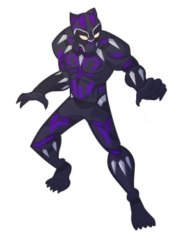 Black Panther boi by botconboy