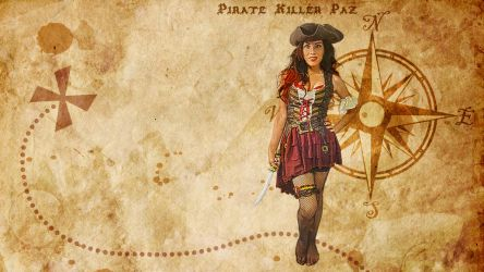 Pirate Killer Wallpaper by KRPgraphics
