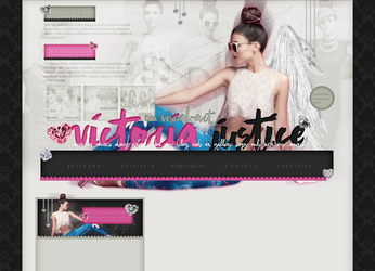 Order Layout ft. Victoria Justice #63 by BebLikeADirectioner