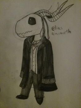 Chibi elias ainsworth by TakAshleyRed