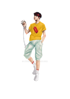Jhope game character by Lynxina