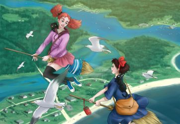 Mary And The Witch's Flower by Refielle