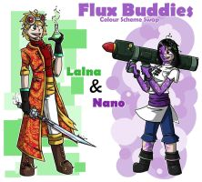 Flux Buddies - Colour Scheme Swap by Bashcat99