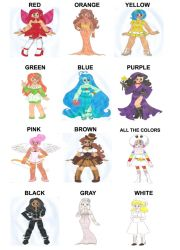 Character Colour Meme by animequeen20012003