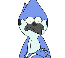 Mordecai Hates idiots like you- RS Vector by TheCrapRightArt