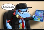 Nostalgia Critic Croconaw by Arbok-X