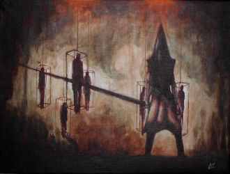 -Pyramid Head- by DeadCamper