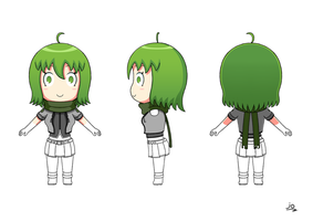 Comic Project: Turnaround Yuuna by JoTheWeirdo