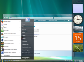 Windows Vista Aero for Windows 7 by least1234