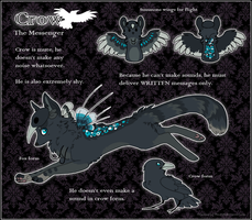 : Crow Reference Sheet : by The-F0X